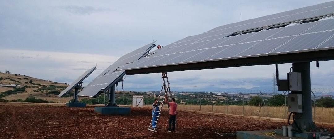 Oινόφυτα - Ηλιακό πάρκο : Aναβάθμιση αστρονομικών Ιχνηλατών σε τεχνολογία DEGER MLD